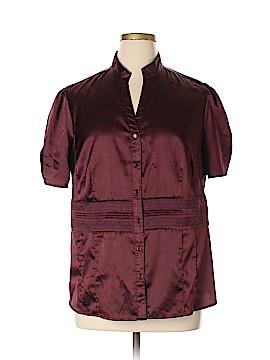 Apt. 9 Short Sleeve Blouse Size 1X (Plus)