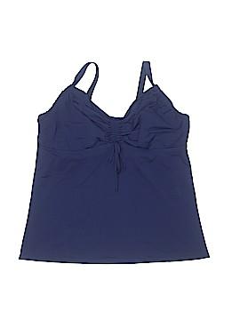 Lands' End Swimsuit Top Size XL