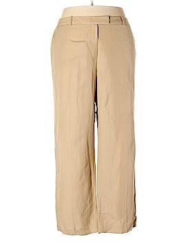 Calvin Klein Linen Pants Size 24 (Plus)
