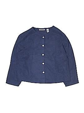 Valerie Stevens Long Sleeve Button-Down Shirt Size 8 (Petite)
