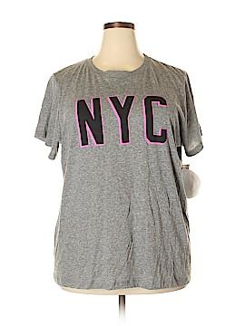 RACHEL Rachel Roy Short Sleeve T-Shirt Size 3X (Plus)