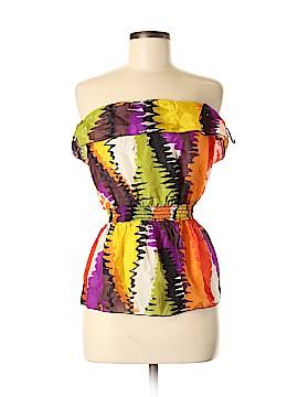 Trina Turk Sleeveless Silk Top Size M