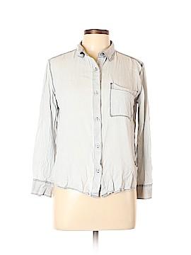 Talula Long Sleeve Button-Down Shirt Size L