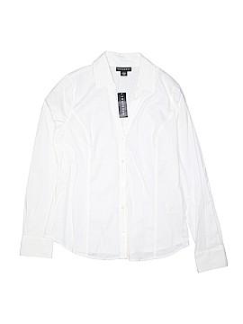 Metaphor Long Sleeve Button-Down Shirt Size M