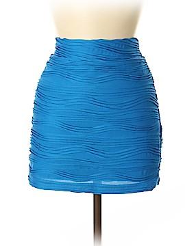 Sparkle & Fade Denim Skirt Size M