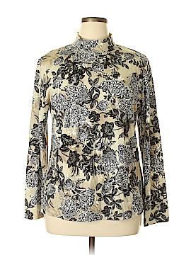 Karen Scott Long Sleeve Top Size XL