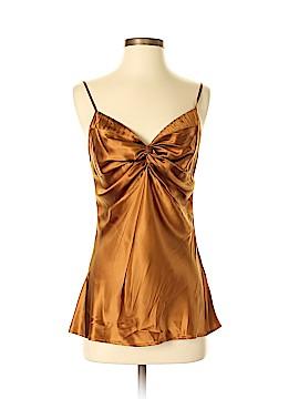 Isda & Co Sleeveless Silk Top Size S