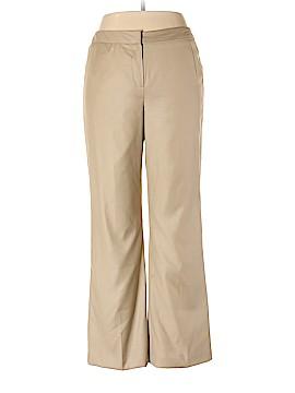 Signature by Larry Levine Dress Pants Size 12 (Petite)