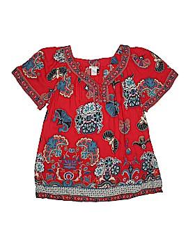 Hannah Short Sleeve Blouse Size L