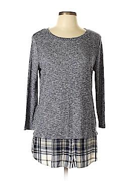 DressBarn Long Sleeve Top Size L