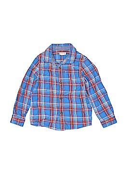 Cat & Jack Long Sleeve Button-Down Shirt Size 5T