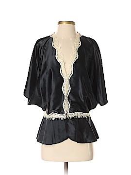 Express Short Sleeve Silk Top Size XS
