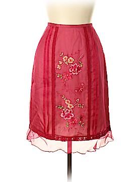 Donna Morgan Silk Skirt Size 10