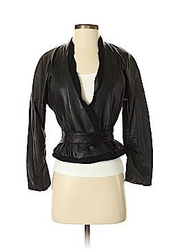 BCBGMAXAZRIA Leather Jacket Size XXS