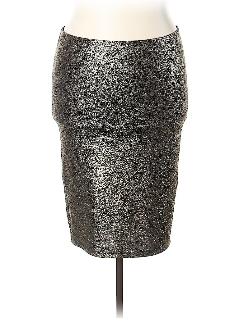 4fd316f45a8 Torrid Metallic Black Formal Skirt Size 1X Plus (1) (Plus) - 73% off ...