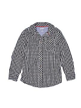 Arizona Jean Company Long Sleeve Button-Down Shirt Size 8