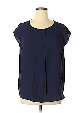 Tahari by ASL Short Sleeve Blouse Size 1X (Plus)