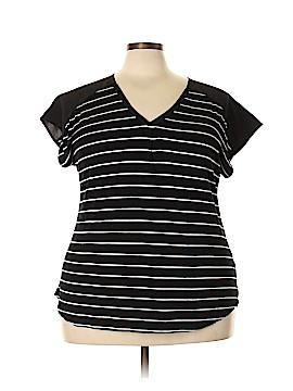 Adrienne Vittadini Short Sleeve Top Size XXL