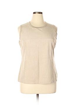 Calvin Klein Sleeveless Top Size 0X (Plus)
