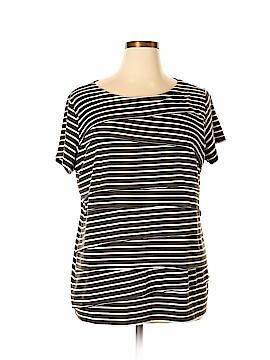 DressBarn Short Sleeve Top Size 2X (Plus)