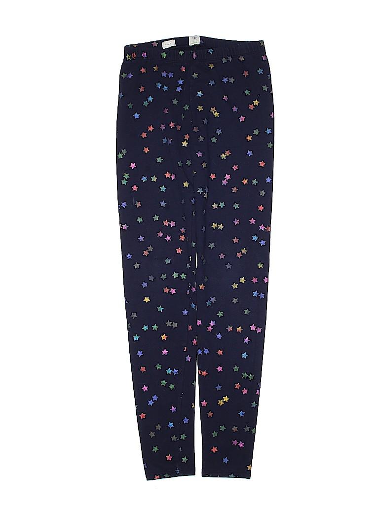 b9bac5f04735 Gap Kids Stars Dark Blue Leggings Size 14 - 0% off