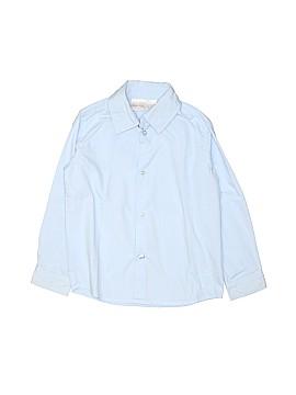 Koala Kids Long Sleeve Button-Down Shirt Size 3T