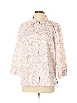 Studio Works Long Sleeve Button-Down Shirt Size XL