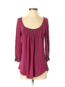 Bordeaux 3/4 Sleeve Top Size XS