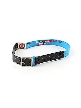 Volcom Leather Belt Size M