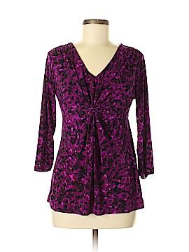 Daisy Fuentes 3/4 Sleeve Blouse Size M