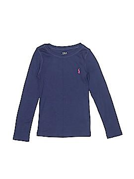 Polo by Ralph Lauren Long Sleeve T-Shirt Size 4T