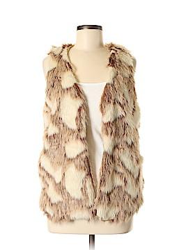 Love By Design Faux Fur Vest Size M
