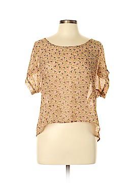 Charlotte Russe Short Sleeve Blouse Size XL