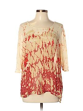 Gypsy 05 Short Sleeve Silk Top Size L