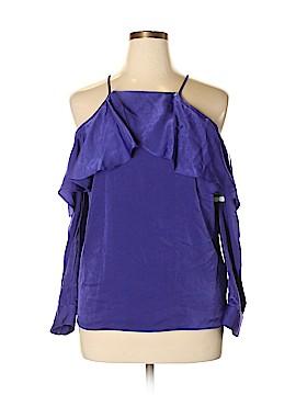 Bar III Long Sleeve Blouse Size L