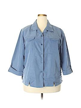 Joanna Plus Long Sleeve Blouse Size 22w (Plus)