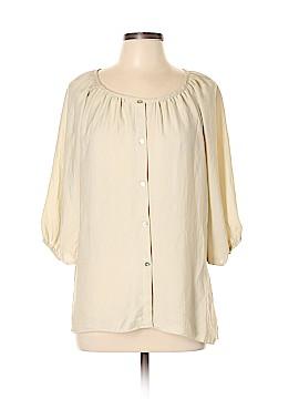 Chris & Carol 3/4 Sleeve Blouse Size L