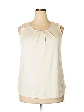 Ann Taylor Short Sleeve Top Size 1X (Plus)