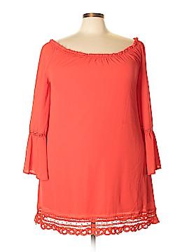 Perch by Blu Pepper Casual Dress Size 3X (Plus)