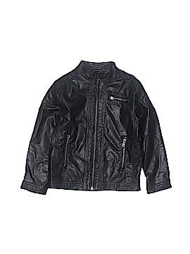 H&M Faux Leather Jacket Size 5