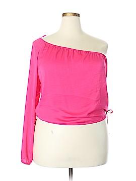 BCBGMAXAZRIA Long Sleeve Blouse Size M