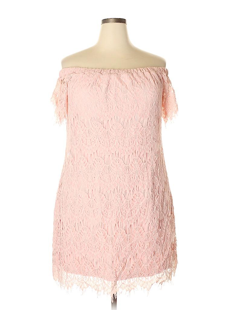 City Chic Women Casual Dress Size 16 (S)