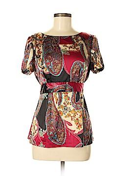 ECI Short Sleeve Blouse Size 8