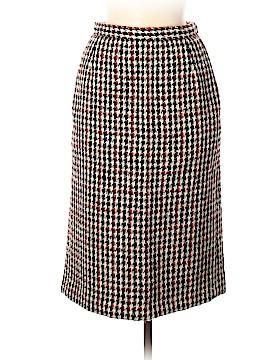 Yves Saint Laurent Rive Gauche Wool Skirt Size 40 (FR)