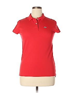 Lacoste Short Sleeve Polo Size 46 (EU)