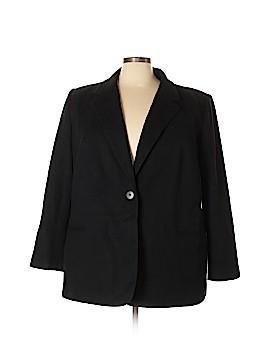 Harve Benard by Benard Holtzman Wool Blazer Size 24 (Plus)