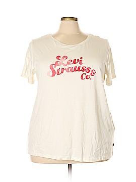Levi Strauss Signature Short Sleeve T-Shirt Size 3X (Plus)
