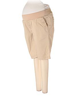 Belly by Design Khaki Shorts Size L (Maternity)