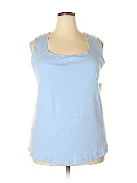 Karen Scott Sleeveless T-Shirt Size 2X (Plus)
