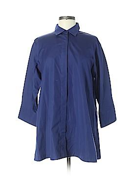 Max Mara 3/4 Sleeve Button-Down Shirt Size 8